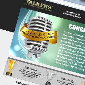 Talkers seminar landing page